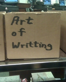 Art of Writting via Flickr, by jma.work (I am aware of the misspelling)