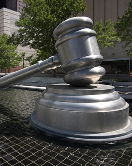Giant Gavel via Flickr, by Sam Howzit