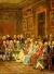 A Reading in the Salon of Mme Geoffrin, via Wikipedia