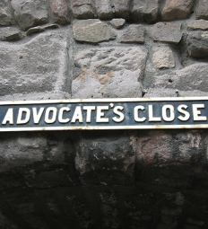 Advocate's Close by Anthony Sarks, via Flickr.