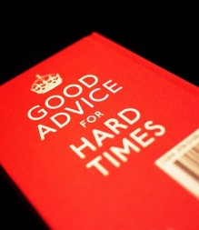 Good Advice for Hard Times by Daniel Y. Go, via Flickr