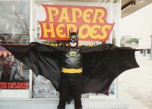 Paper Heroes Location 2 by Cory Bond, via Flickr.