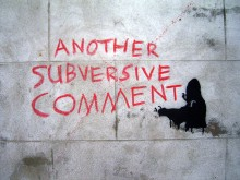 Another Subversive Comment by Duncan, via Flickr