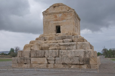 The Tomb of Cyrus the Great by A.Davey, via Flickr