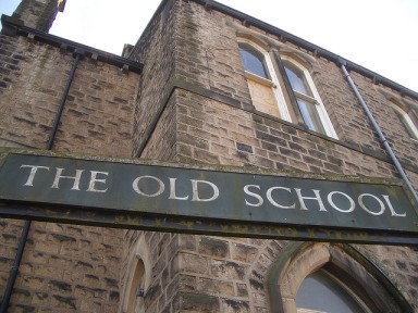 The Old School, Upper Mill, Saddleworth by Duncan Hull, via Flickr.