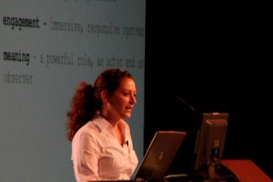 Jane McGonigal @ eTech 2007 by eschipul, via Flickr