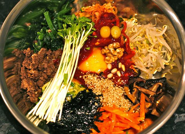 비빔밥 - Bibimbap